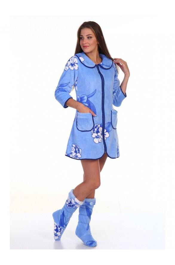 Женский халат Гортензия (Модель - gortenziya)