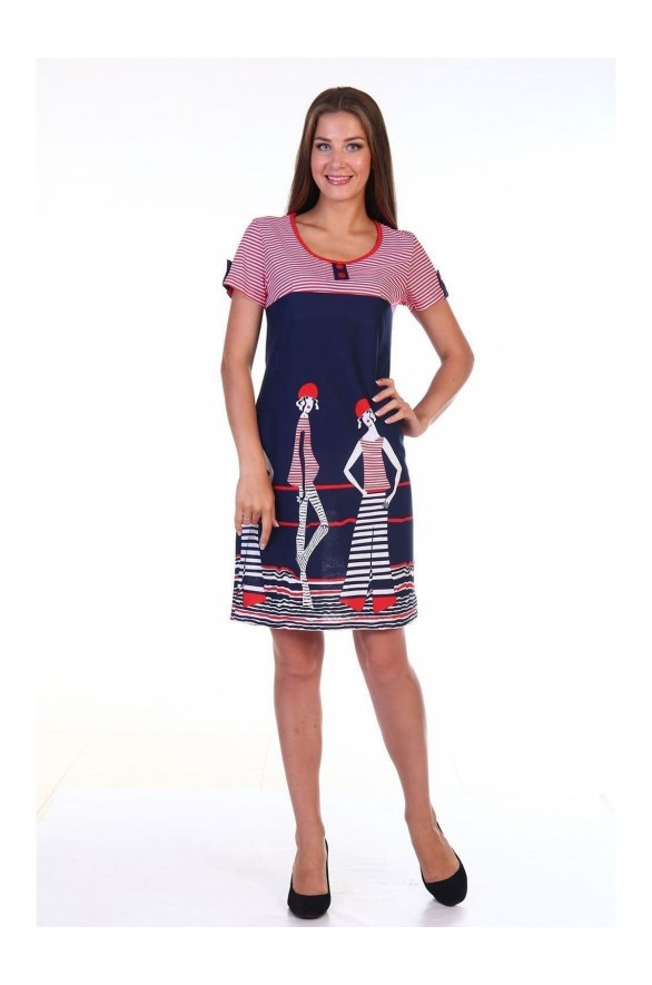 Платье Волна кулирка