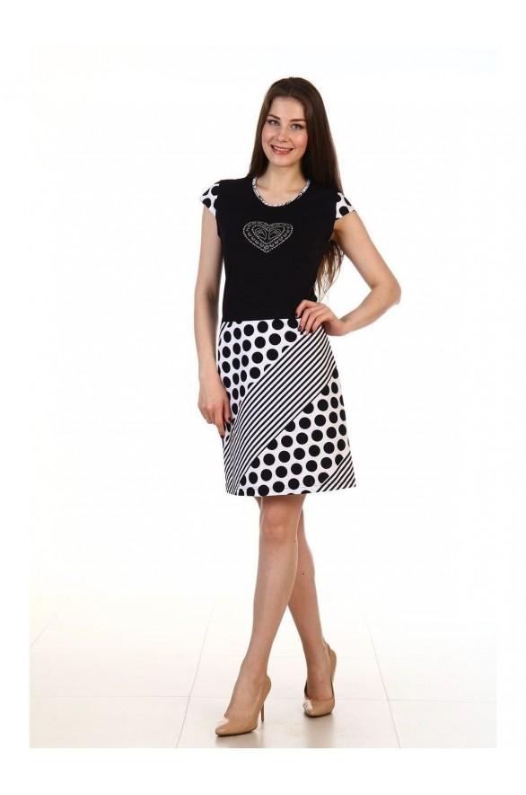 Платье Графика 1 кулирка