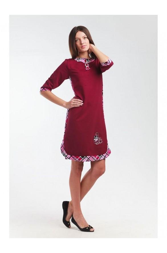 Платье Эвелина футер