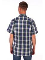Мужская рубашка шотландка (Модель - rubashka)