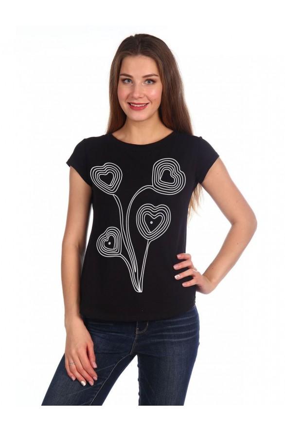 Женская футболка Lovely (Модель - lovely)