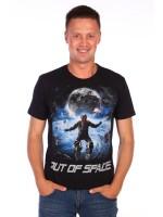 Мужская футболка мужская Космос (Модель - kosmos)