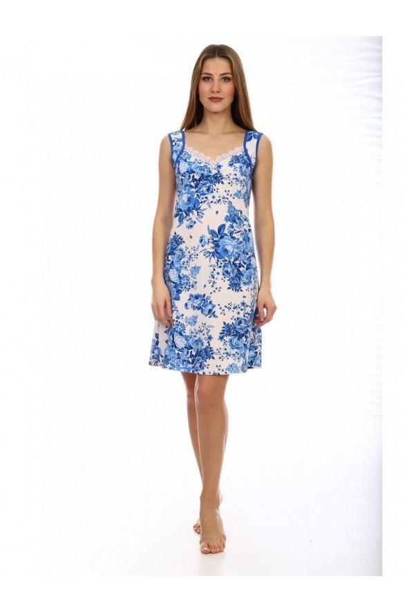 Женская ночная сорочка Голубика (Модель - golubika)