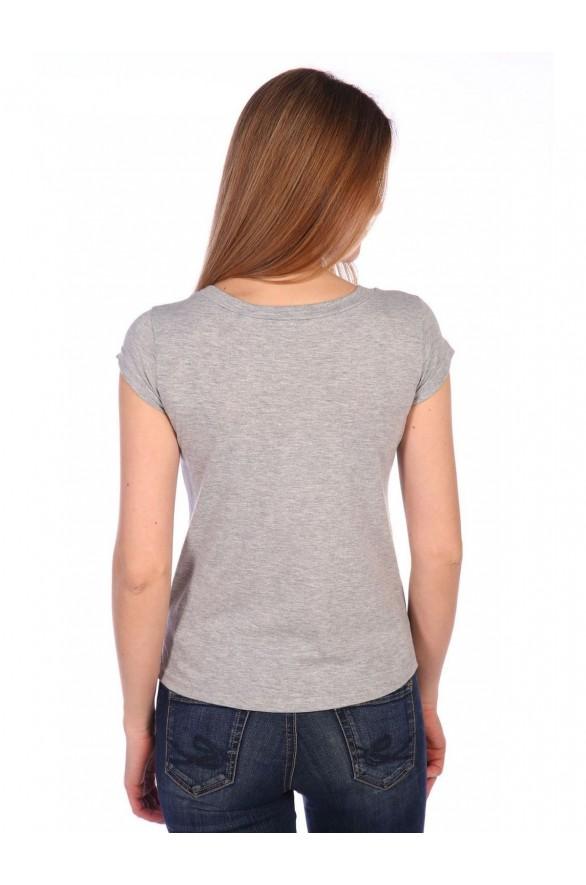Женская футболка Васильки (Модель - vasilki)