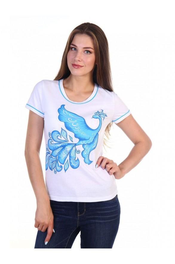 Женская футболка Феникс (Модель - feniks)