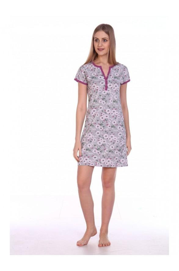 Женская ночная сорочка Флора (4524-flora)