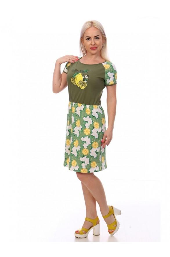 Платье Лайм кулирка