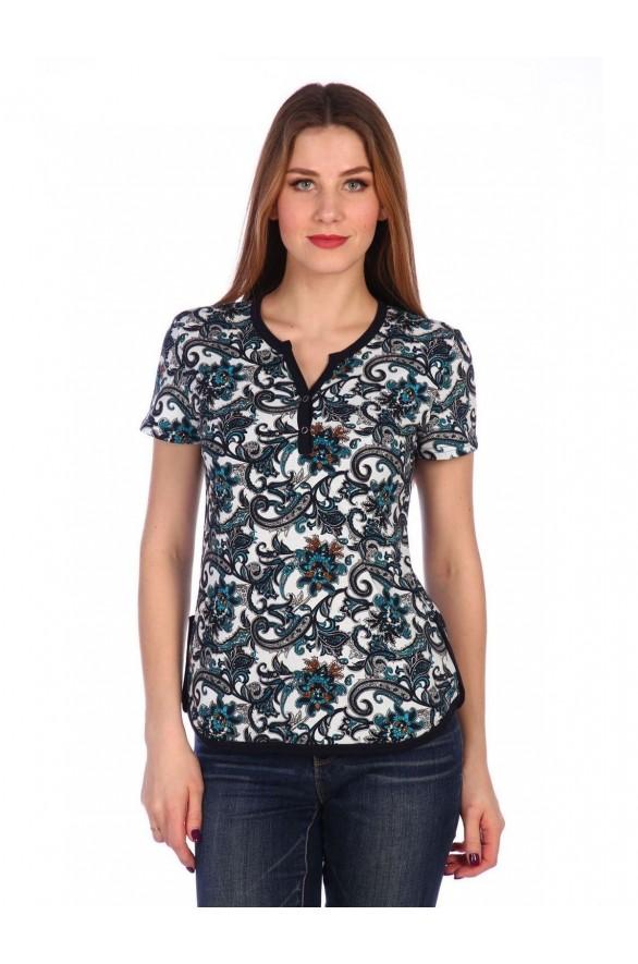 Женская футболка Пейсли (Модель - pejsli)