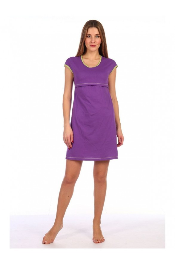 Женская ночная сорочка для кормящих (4711-dlya)