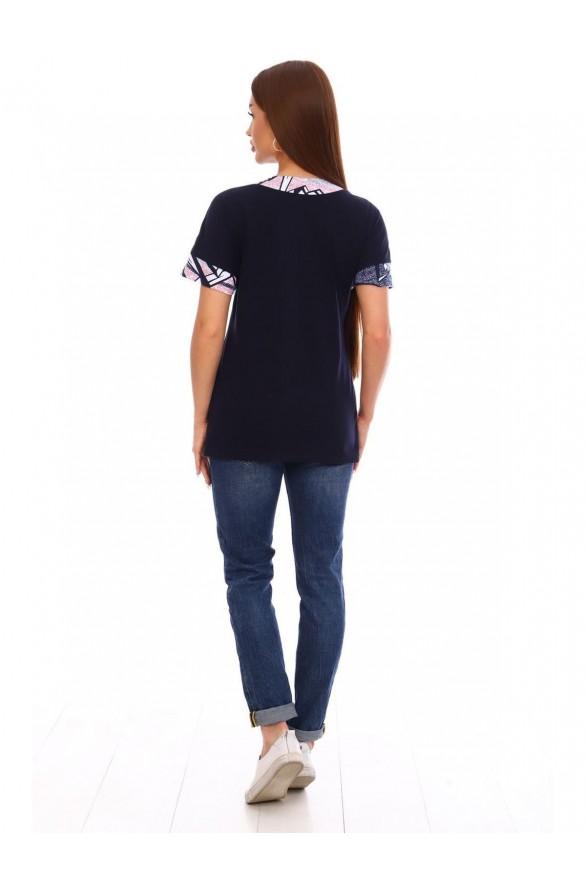 Женская футболка Синьора (Модель - sinora)