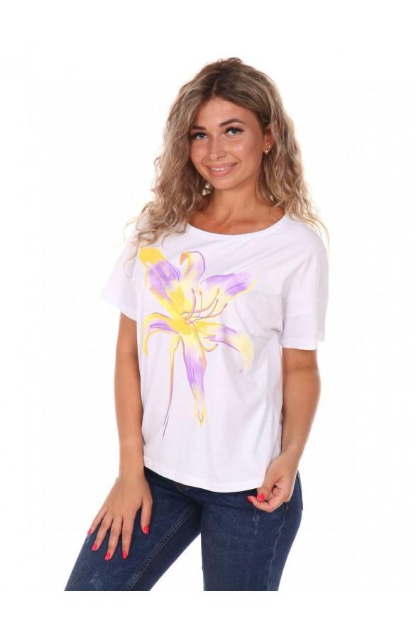 Женская футболка оверсайс Лилия (Модель - liliya)